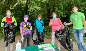 Акция по очистке берегов